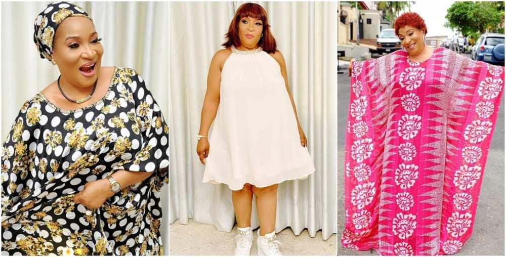 Veteran Nollywood actress Ngozi Nwosu celebrates turning 57 in style, releases new photos