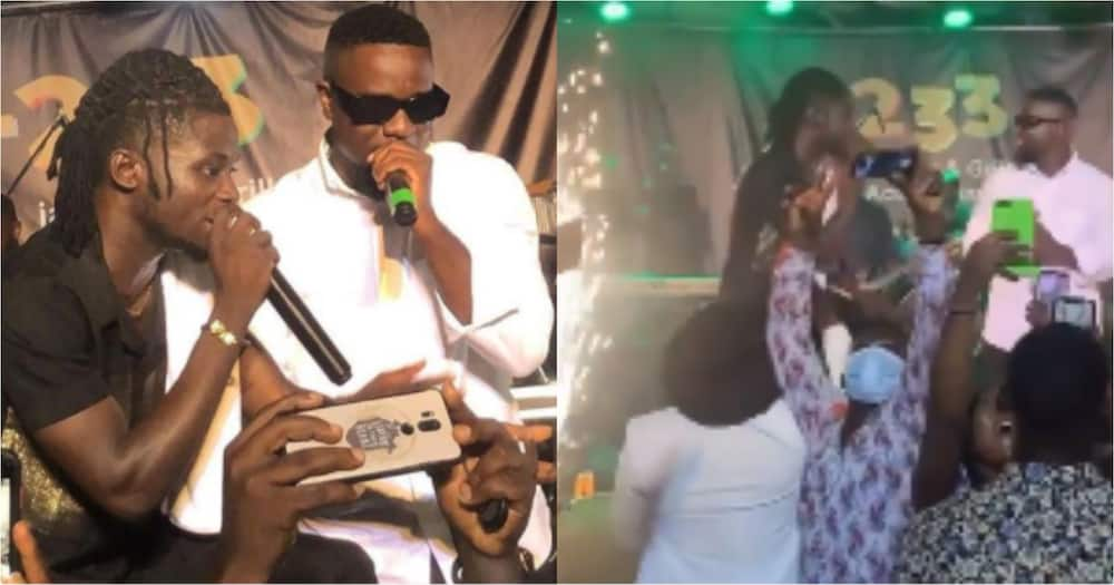 Hero Concert: Sarkodie and Kuami Eugene perform Happy Day song together the first time (Video)