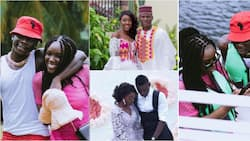Everlasting - Stonebwoy's wife celebrates their 4th wedding anniversary with lovely photos and video