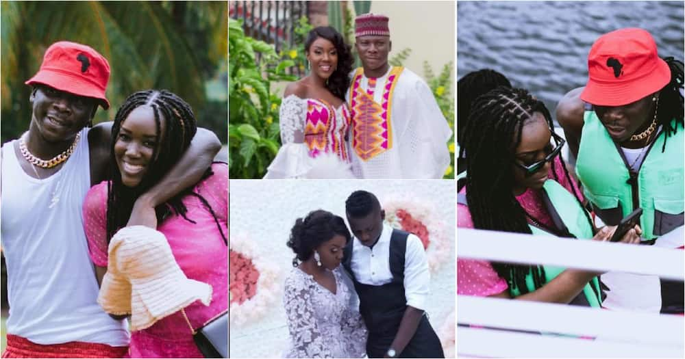 Stonebwoy and his wife Dr Louisa
