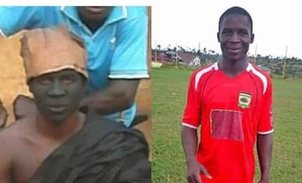 Meet the 20-year-old Kotoko midfielder who is chief of a town (Photos)