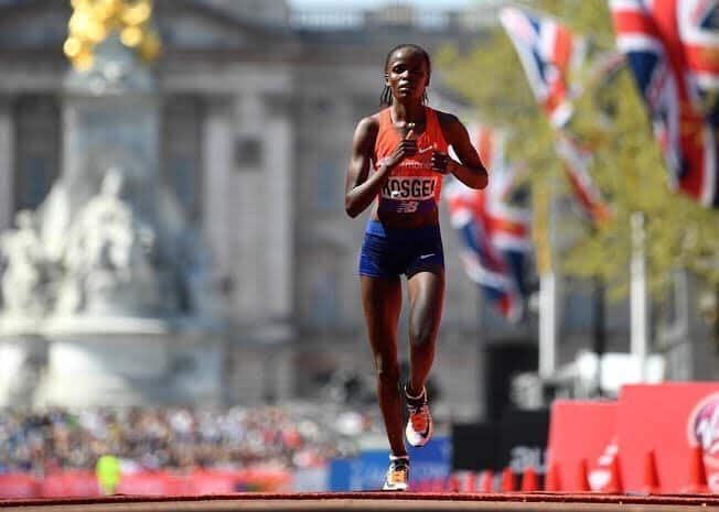 Kenya's Brigid Kosgei among 3 young women who made sporting history in the world