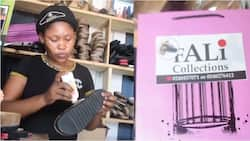 From her porch to shop: Meet the Ghanaian lady who used divine direction to start a shoemaking business