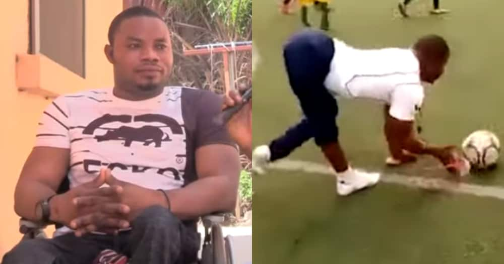 James Eduful: Meet the Ghanaian aspiring to be the 1st physically challenged coach for Black Stars