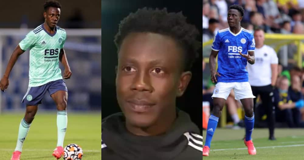 Ghanaian youngster Kamal Sowah eager to make Leicester City's squad for upcoming season