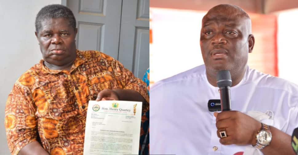 'Pay Psalm Adjeteyfio GHc1,500 each Month from my Salary' - Hon. Henry Quartey comes to Actor's aid