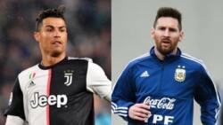 Jubilation as Cristiano Ronaldo beats Lionel Messi to another prestigious award