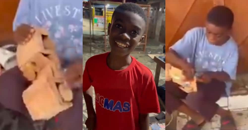 Prince Antwi: 12-year-old Ghanaian Student Builds Wooden Car that Moves from Scratch; Video Pops Up