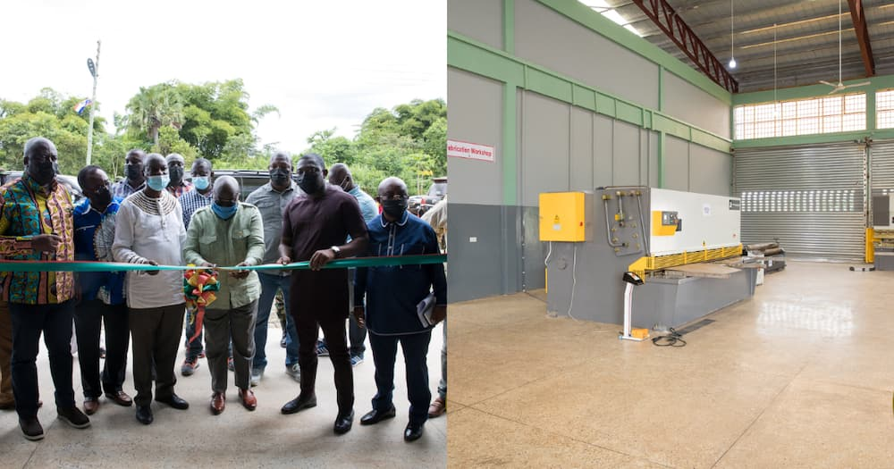 Akufo-Addo commissions GH¢6.07m Hohoe Technology Solutions Centre (photos)