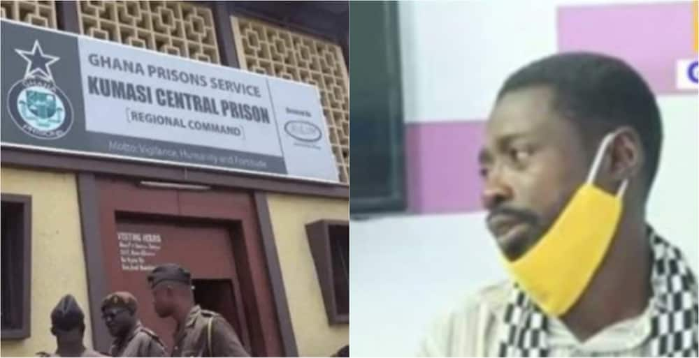Boga Adu: Innocent Ghanaian man jailed by policeman for over 2 months recounts sad story (video)