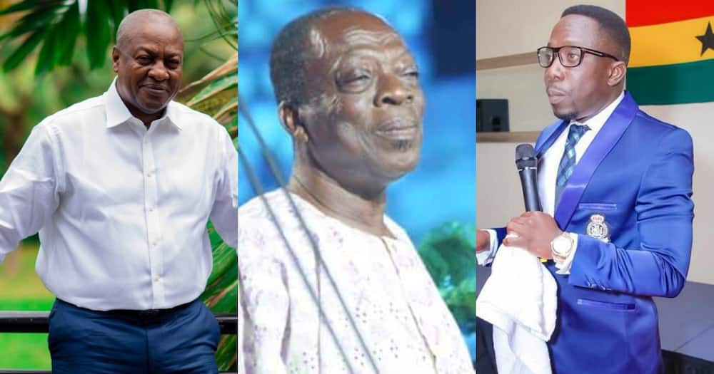 Kohwe dead: Video of how Mahama Supported Actor with cash and Provisions Drops