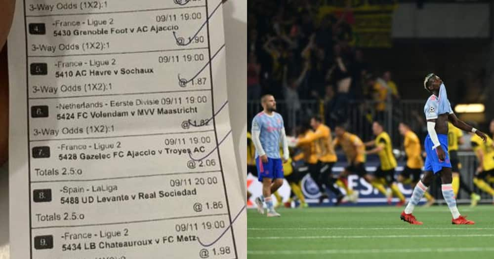 GH man places 10-year trophyless curse on Man United for 'spoiling' his GHC100 bet (video)