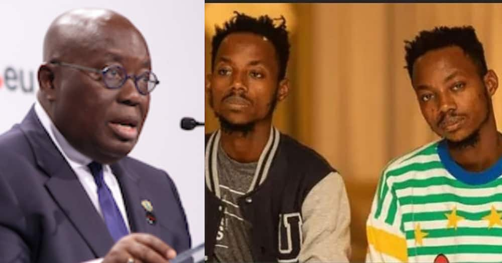 Twins Dnt Beg Exposed over Claim that Akufo-Addo Fired them as Professional Photographers; real story told