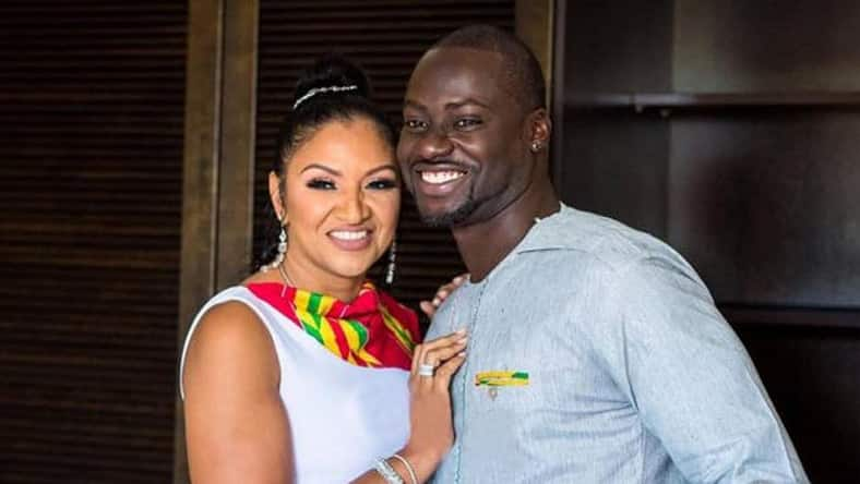 Rare photo of Chris Attoh's murdered wife's drug lord husband pops up online