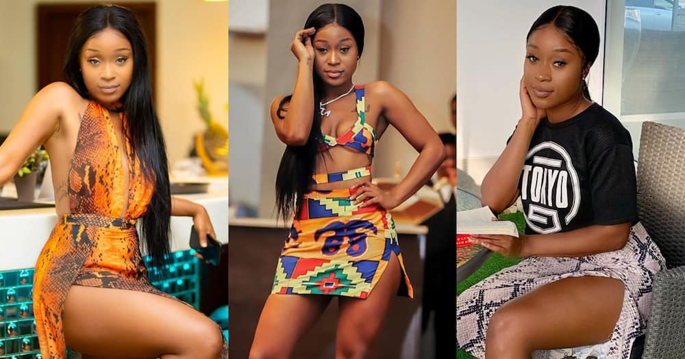 The price of all my wigs can build a house - Efia Odo brags