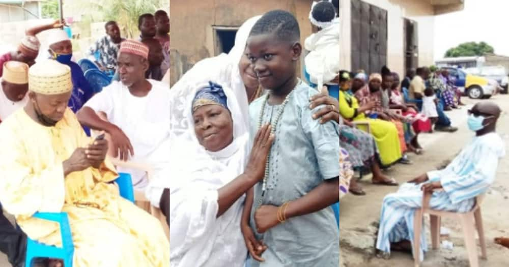 Ishmael Abdallah: First photos emerge as family of 10-year-old boy killed for 'juju' gather for burial
