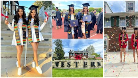 Identical twins graduate from US University together, stun the Internet with lovely photos