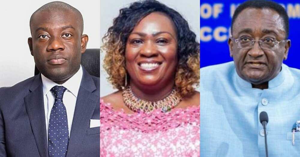 Oppong Nkrumah, Hawa Koomson, Afriyie Akoto approved by majority vote