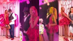 Lady Amoah: Photos, videos drop as Kofi Amoah throws lavish 20th b'day party for daughter