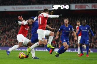 Arsenal beat Chelsea 2-0 in Premier League encounter