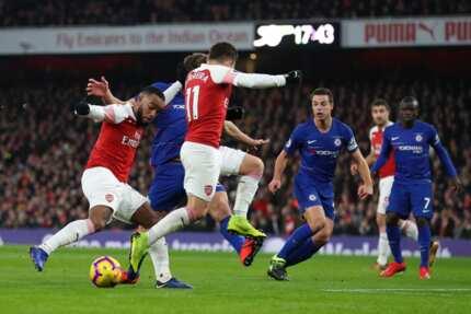 Arsenal beat Chelsea 2-0 in Premier League encounter