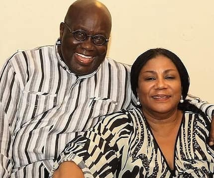 Hot love message from First Lady to Akufo-Addo surprises Ghanaians on social media