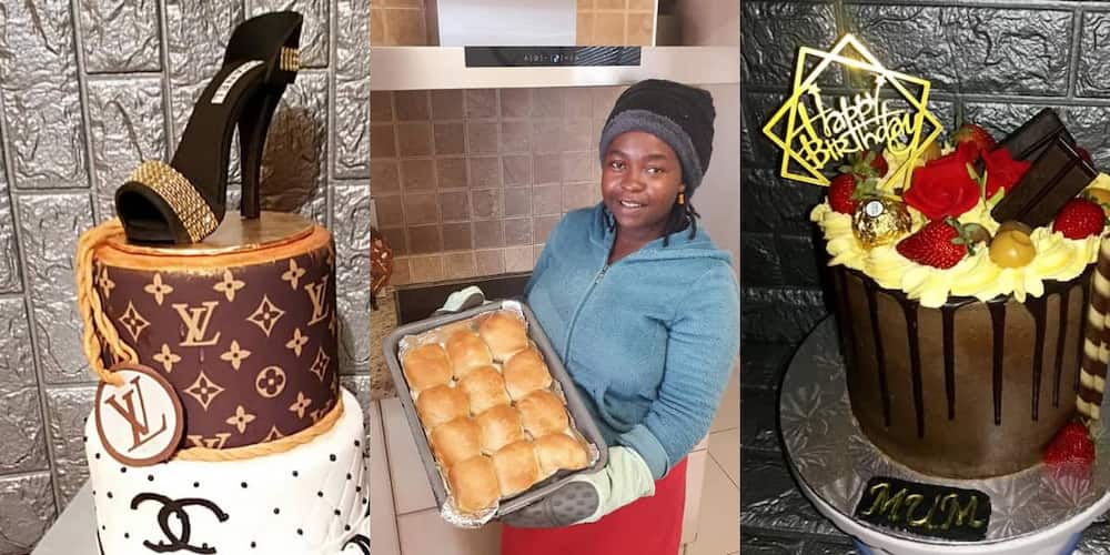 Domestic Worker at Day, Baker at Night: Woman Wows the Net With Amazing Baking Skills