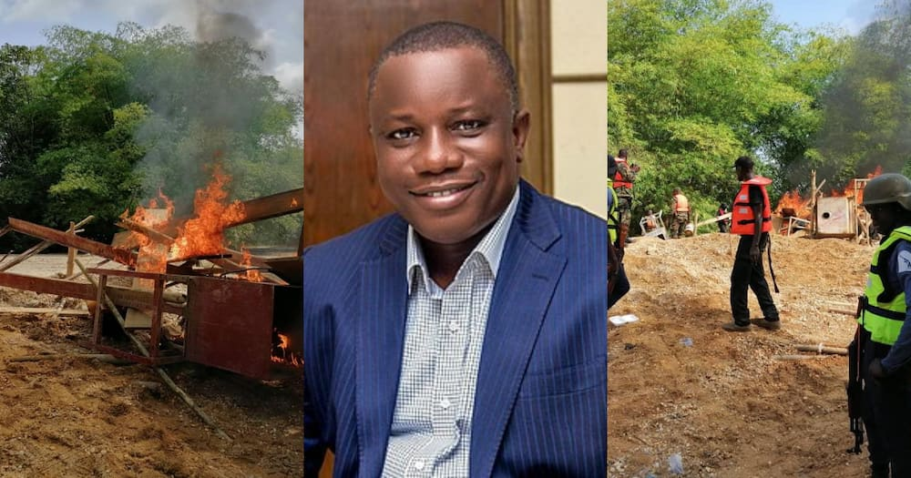 No excavator will be brought to Accra; all galamsey equipment will be destroyed on site – Nitiwul