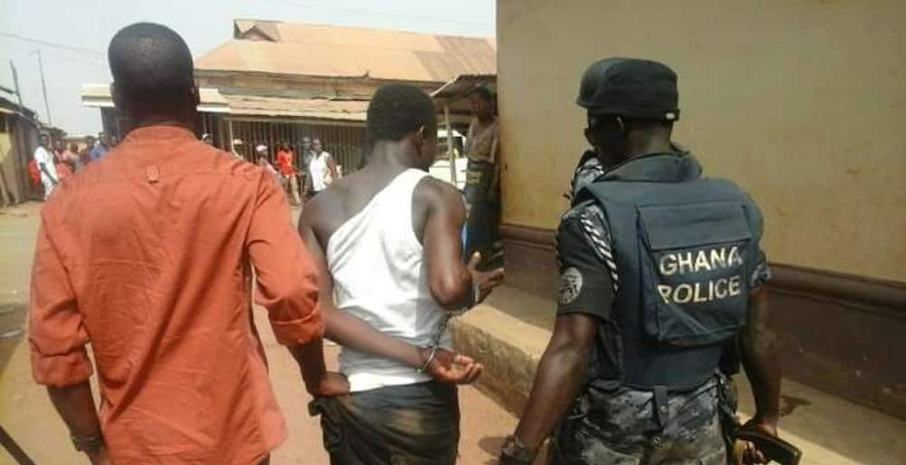34 suspected armed robbers in the grips of Upper East Police command
