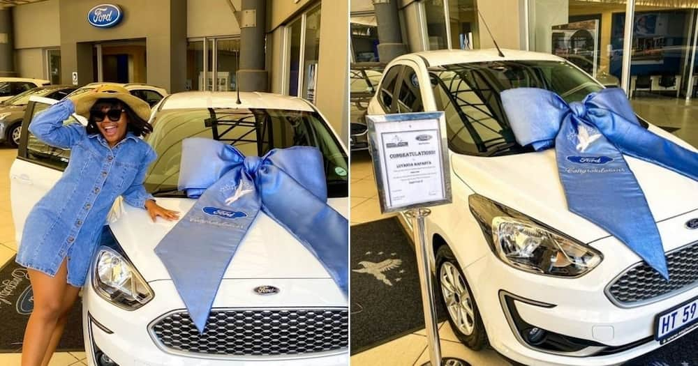 """Woman realises dream of buying herself a new car: """"Meet my baby"""""""
