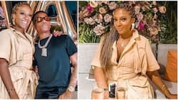 Akufo-Addo's daughter Valerie chills with Wizkid and others on her 40th birthday