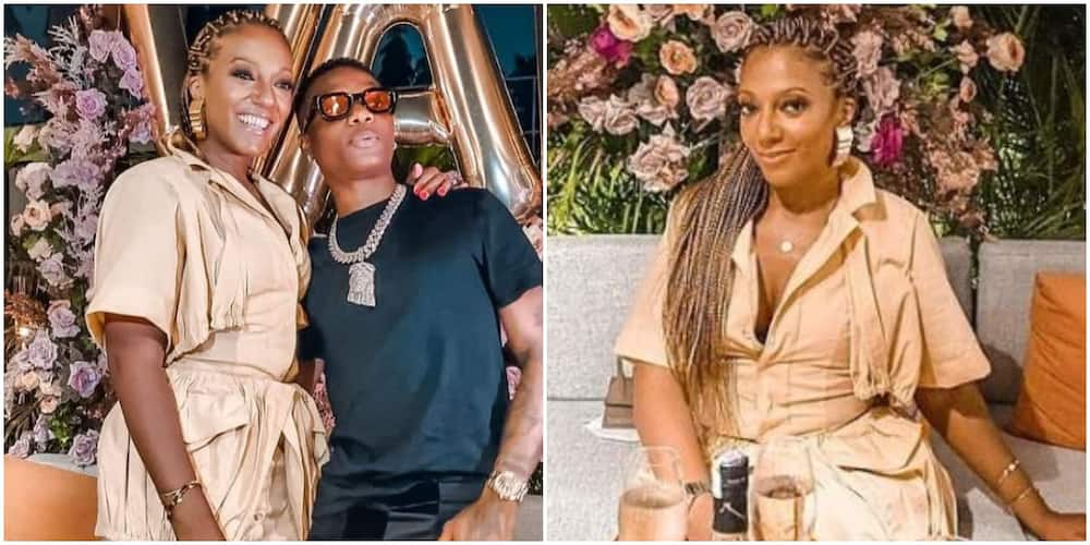 Nigerian Star Wizkid Spotted Chilling with President Nana Akuffo Addo of Ghana's Daughter on Her Birthday