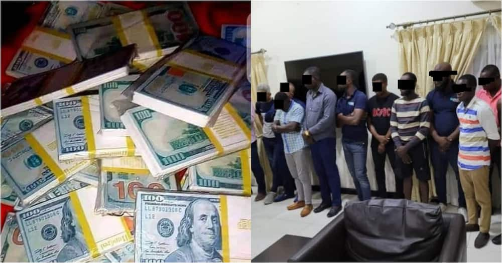 13-member gang arrested at Airport with over $5million fake currency
