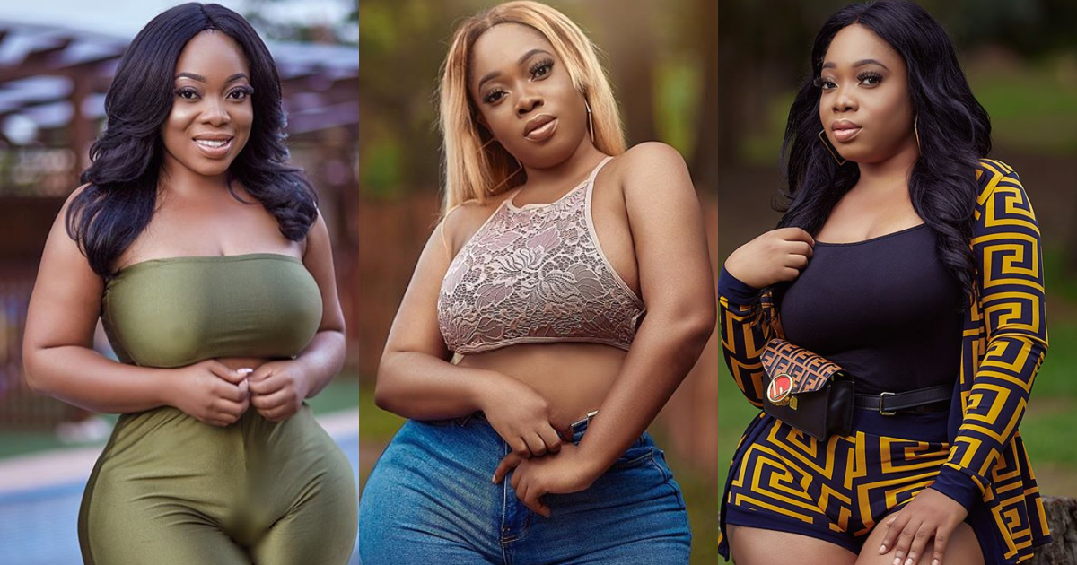 Moesha reacts after Gloria Kani exposed Tracey Boakye for gossiping about her (Photo)
