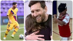 Lionel Messi gifts 10-year-old visually-impaired Arsenal fan GHC 24 277 high-tech glasses