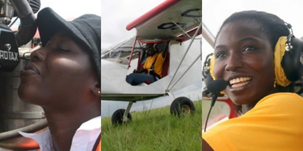 Patricia Mawuli: Meet Ghana's first female pilot and Black African to be certified to build Rota Aircraft Engines