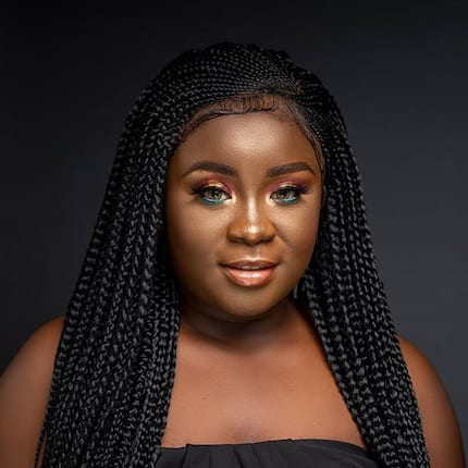 Young actress Maame Serwaa writes emotional letter to late mother one year after her death