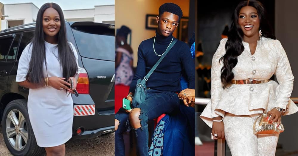 Jackie Appiah: 5 photos of Actress' son Damien Looking so tall at 15 Years