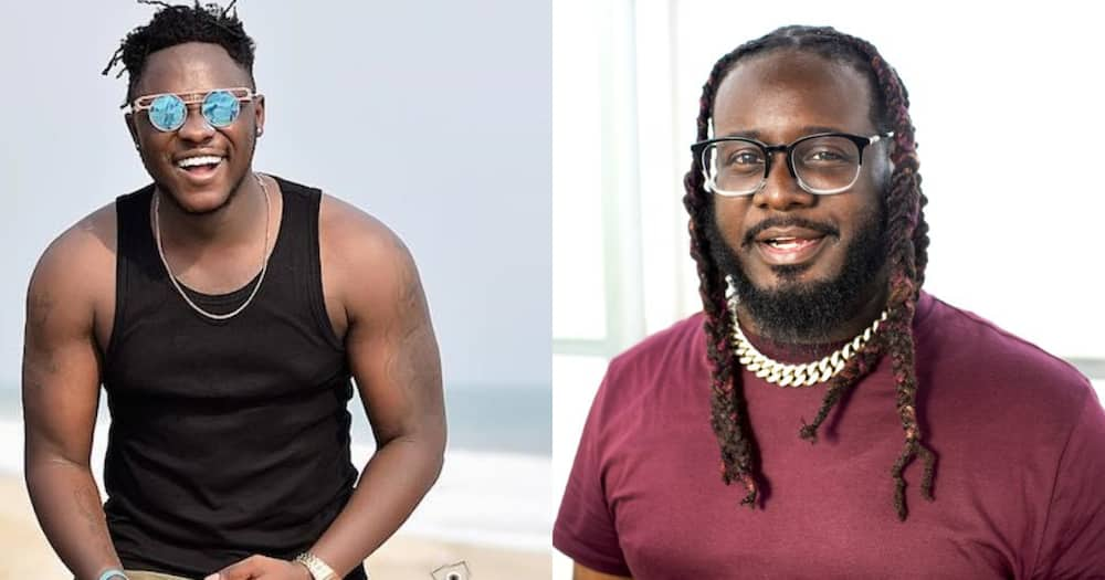 Medikal finally gets response from American rapper T-Pain after initial 'Yawa.' Photo drops