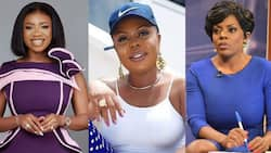 Serwaa Amihere's first reaction after Afia Schwar tried to create fight between her and Nana Aba has fans admiring her