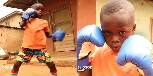 Abdul-Somod Ayomide: 5-year-old boxer says h wants to become champion