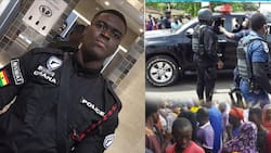Bullion van robbery in Accra: Police pick up 215 suspected criminals following incident