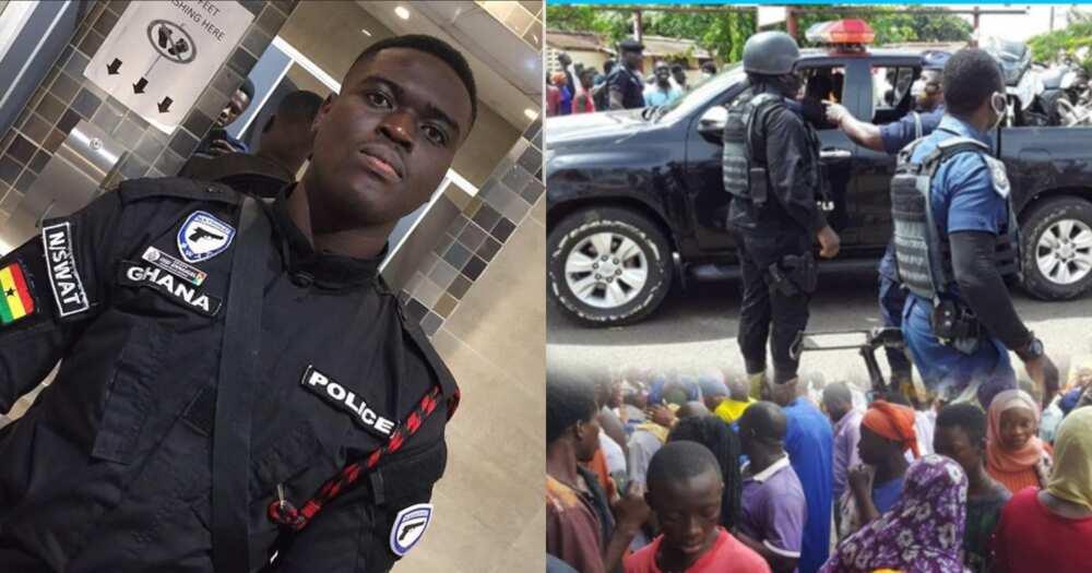 Video of police officer killed in bullion van robbery feeling himself pops up