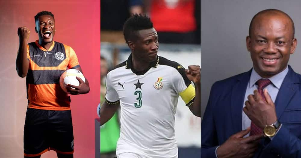 We need to build a national monument for Asamoah Gyan- Manager Samuel Anim Addo