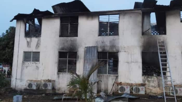 Fire guts Electoral Commission's office 4 months to 2020 election
