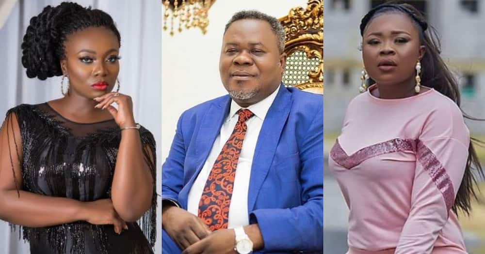 Stacy Amoateng allegedly causes arrest of Dr. Kwaku Oteng's 'daughter' Adu Safowaa for defamation