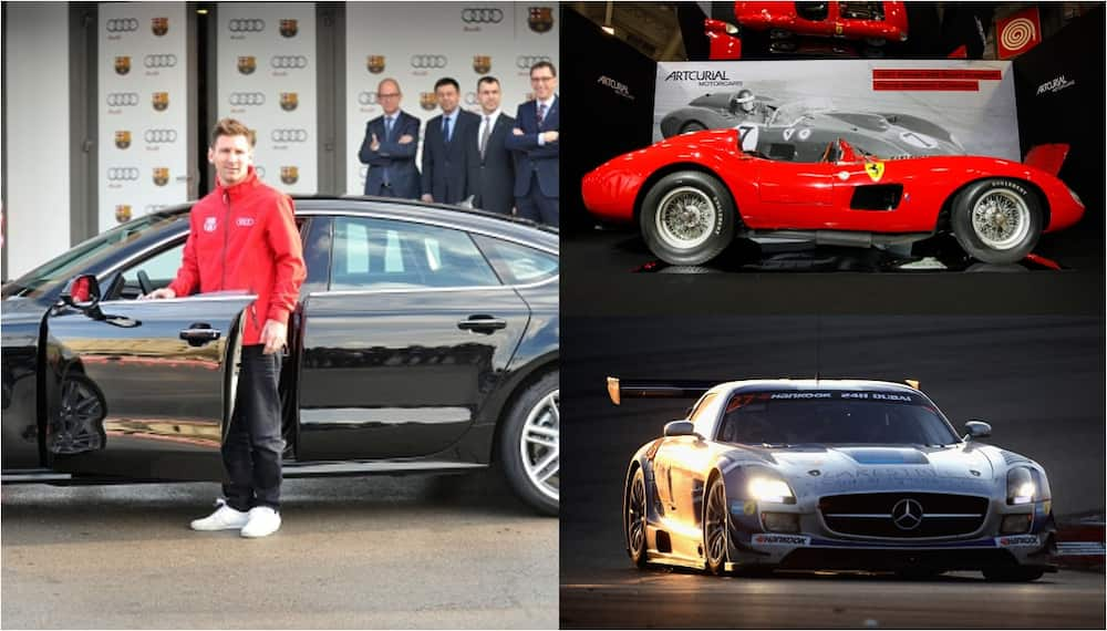 Lionel Messi's fleet of exotic cars in his garage is worth $11m