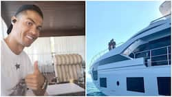 Cristiano Ronaldo spotted in yacht with Rodriguez who he calls special company