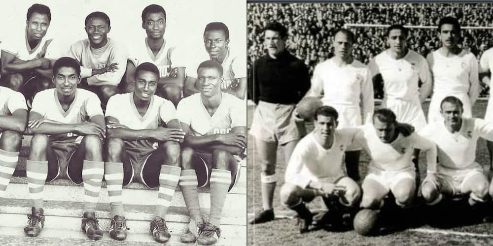 Historic match shows how Black Stars held Real Madrid to a 3:3 draw at Accra Sports Stadium in 1962