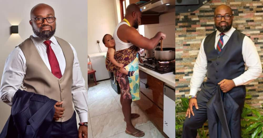 Cooking is not a favour to your wife - Ghanaian millionaire McDan tells husbands